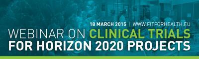 webinar clinical trial on 18 March 2015