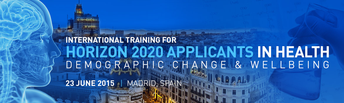 International Training for Horizon 2020 Applicants in Health, Demographic Change and Wellbeing