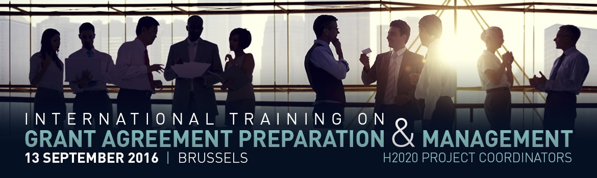 International Training On Grant Agreement Preparation And Management