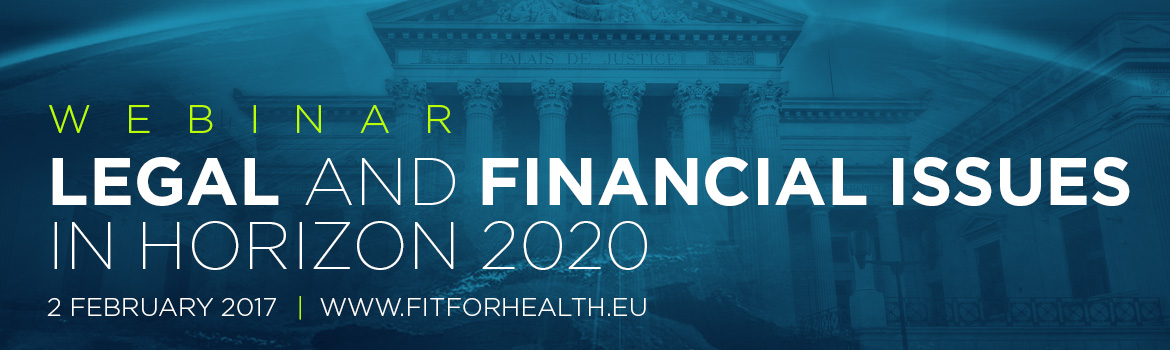 Webinar on 'Legal and Financial Issues in Horizon 2020'