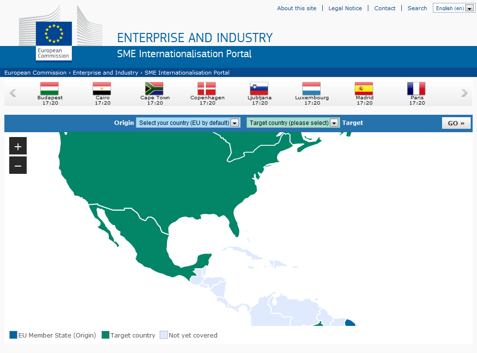 SME Internationalisation Portal
